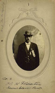 "Ole K. Flaaten [Ole Knudsen] 15th Wisconsin ""Scandinavian"" Regiment | Photograph | Wisconsin Historical Society"