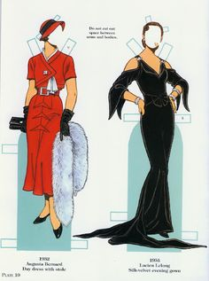 French Fashion Designers 1900-1950