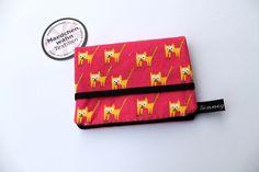 Portemonnaies - Börse Miniformat - Cat Meaw pink +maedchenwahn+ - ein Designerstück von FrauSinnig bei DaWanda