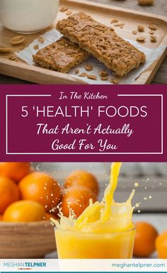 5 'Health' Foods That Aren't Actually Good For You