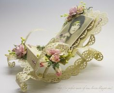 A perfect waste of time: Rocking Chair - The Tutorial 3d Templates, Paper Gift Box, Tag Design, Home And Deco, Printable Paper, Summer Crafts, Card Tags, Creative Cards, Vintage Cards