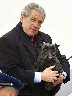 Barney Bush, First Dog, Dies, George W Bush Announces : People.com [X:  What a perfect First Dog]