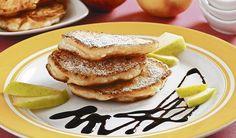 Nedeľné raňajky: Jablkové placky s tvarohom | DobreJedlo.sk