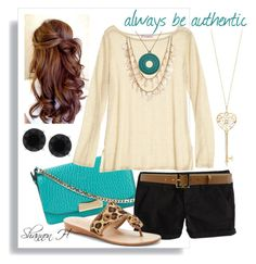 Summer Set by shannonholcombe70 on Polyvore featuring polyvore fashion style Calypso St. Barth American Eagle Outfitters Jack Rogers Burberry Charlotte Russe Anne Klein CHARLES & KEITH
