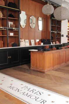 APPARTEMENT-SEZANE-PARIS_8067 - copie Wabi Sabi, Sezane Paris, Paris Store, Lettering Design, Restaurant Bar, Liquor Cabinet, Tiles, Pure Products, Ideas