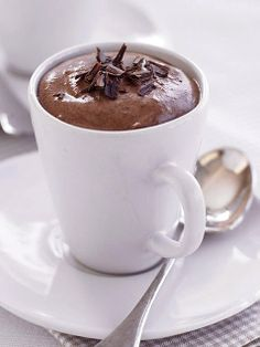 Easy Chocolate Mousse. Yum... (Image: iVillage.com)