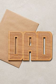 Cool Dad's Day card alert.