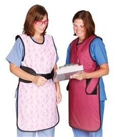 Back-Aid Breast #Cancer Awareness #Aprons and #Thyroid Shields are made in our Ultralite Lead-free material—up to 37% lighter than standard lead aprons. #radiation #protection