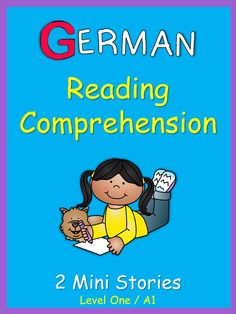 These 2 ready-to-go German Mini Stories with comprehension questions are a sample of German Reading Comprehension . Reading Passages, Reading Comprehension, Comprehension Questions, Reading Stories, Foreign Language Teaching, German Language Learning, German Grammar, German Words, Vocabulary In Context