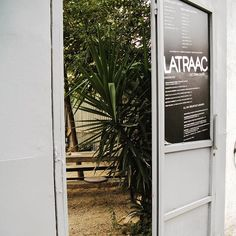 #latraac #athens Athens, Garage Doors, Spaces, Outdoor Decor, Home Decor, Homemade Home Decor, Decoration Home, Interior Decorating