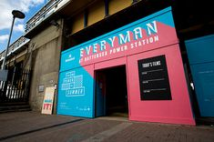 Bread Collective's ace visuals for Batersea Power Station's summer cinema