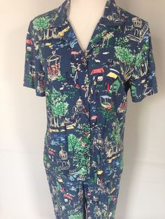1950s Deadstock Pajamas by TheDowryofVenice on Etsy