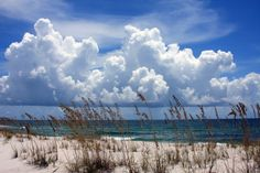 Image detail for -Tall Clouds over the Beach | Pensacola Beach Blogger