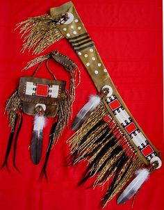 """Black Eagle"" Scabbard (41""x7"") & Bag (18""x9"") by Chuck ""Winter Heart"" Reddick."