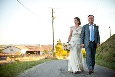 Debbie and John's French Wedding With a Claire Pettibone Dress. By Matt Parry