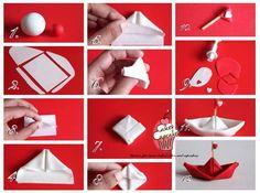 Origami Boat Picture Tutorial