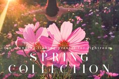 Stunning Spring Lighting Lr Presets by LOU&MARKS on @creativemarket