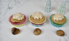 Cupcakes, Vegan, Breakfast, Desserts, One Teaspoon, Pot De Creme, Treats, Conkers, Postres