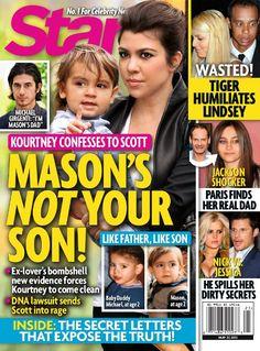 Kourtney Kardashian Confesses Scott Disick Isn't Mason's Father