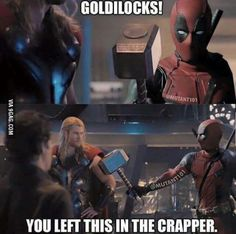 Deadpool being Deadpool