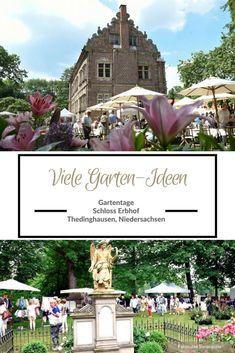 Garten, Deko, Genuss   Anzeige: Gartentage Thedinghausen: 5 X 2 Freikarten  Für Die Schlossmesse In Niedersachsen Gewinnen
