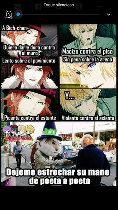 Read from the story Memes de Diabolik lovers by (Soft Tears) with reads. Anime Meme, Otaku Anime, Anime Chibi, Kawaii Anime, Diabolik Lovers, Couples Anime, Girls Anime, Estilo Anime, Manga