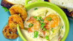 Inspired By eRecipeCards: New Orleans SHRIMP and ARTICHOKE SOUP