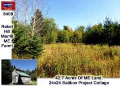 Maine Land, Off Grid, Farmstead Here! #maineland info@mooersrealty.com 207.532.6573