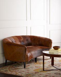 Old Hickory Tannery Sandrine Sofa