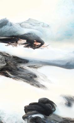 The Chant of Four Seasons_ Autumn  No:1    Lu Jun Ink