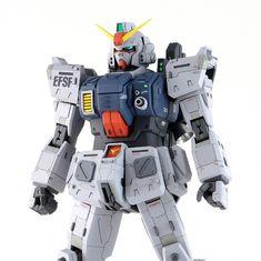 GUNDAM GUY: MG 1/100 Gundam Ground Type - Customized Build