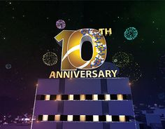 Aaj News 10th Anniversary Filler Ident and Window for Aaj News 3d and Composite by me