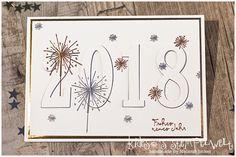 Eclipse Card zum neuen Jahr mit #stampinup, #Stampin@firstBloghop #kidesosstempelwelt #happynewyear #embossing