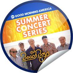 The Beach Boys on GMA on June 15! Sticker | GetGlue
