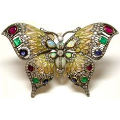 art nouveau jewelry   Art Nouveau Styles using extensive enameling techniques including ...