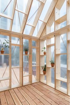 Image 9 of 28 from gallery of CODE Works with Refugees to Create PLUG-IN Collective Space for the Dutch Embassy in Berlin. Photograph by Johannes Belz Architecture Details, Interior Architecture, Outdoor Spaces, Outdoor Living, Garden Studio, Garden Office, Glass House, Outdoor Projects, Shed
