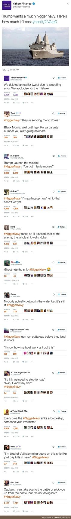 Black navy tweets