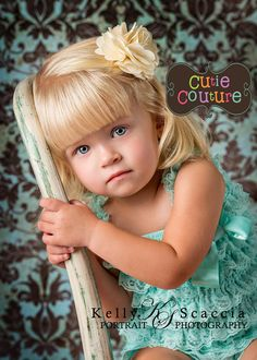 Boutique StyleBaby Hair ClipToddlerChild Hair by CutieCouture4u,