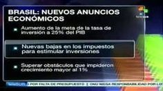 Nuevos anuncios económicos en #Brasil