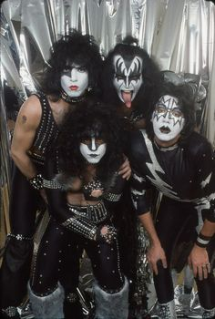 "My first band ever! As a kid I used to have a huge crush on Paul Stanley the first time I saw the Music Video to ""I was made for loving you""..Still love them"