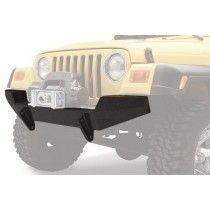 Bestop HighRock Front Bumper with D-Ring Mount - Matte Black Jeep Wrangler Bumpers, Jeep Bumpers, Matte Black, 4x4, Trucks, Ring, Rings, Truck, Jewelry Rings