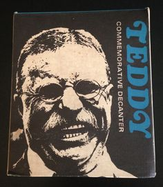 Teddy Roosevelt Commemorative Decanter In Box First Edition Presidential…
