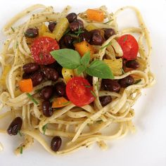 Pasta and bean salad