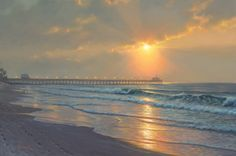 "Radiant Sunrise by Mark Keathley I've been trying to create a spot where everyone can go to be alone with their thoughts, their own history, and their beliefs about themselves. In this place of stillness we can hear a new word – a truth from above which can change everything from that moment on. From this place and time forward it will be a new day, a new beginning – a ""Radiant Sunrise"". – Mark Keathley"