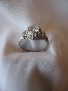 Vintage 1915 Engagement Ring
