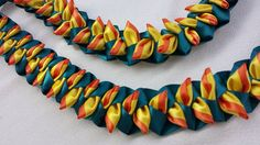 Heliconia flat ribbon lei