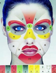 Face yoga workouts as per Chinese acupressure facelift standards. Facial gymnastics exercises: Face yoga can offer top biological non-surgical facelifts Reflexology Points, Acupressure Points, Facial Yoga, Facial Massage, Shiatsu, Acupressure Massage, Accupuncture, Organic Facial, Massage Techniques