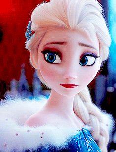 """kalriekloss: """"""""Elsa in her new winter dress """" """" Disney Princess Frozen, Disney Princess Drawings, Disney Princess Pictures, Disney Pictures, Disney Drawings, Frozen Images, Frozen Pictures, Cute Disney, Disney Art"""
