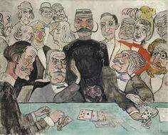 James Ensor (1860-1949) : Les Joueurs, 1902.