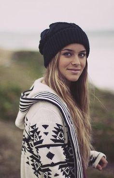 Beanie + sweater                                                                                                                                                                                 More